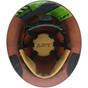 DAX Fiberglass Composite Full Brim Hard Hat - Textured Gunmetal Gray