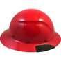 DAX Fiberglass Composite Full Brim Hard Hat - Red