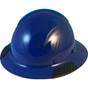 DAX Actual Carbon Fiber Shell Full Brim Hard Hat - Royal Blue