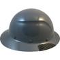 DAX Fiberglass Composite Full Brim Hard Hat - Medium Gray