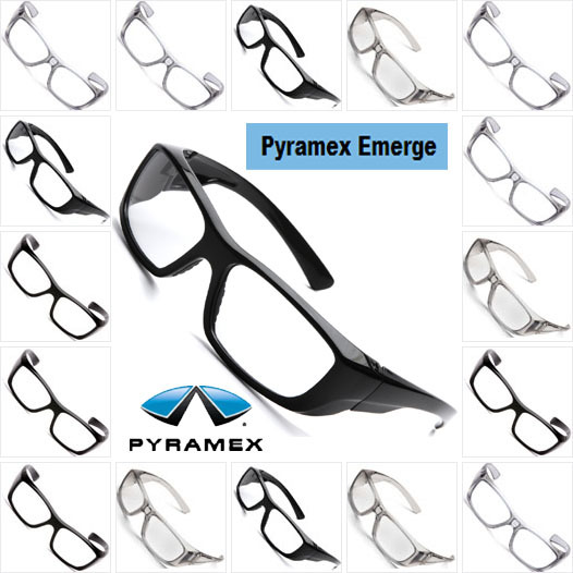 4c18cb48f50 Pyramex Emerge Safety Eyewear