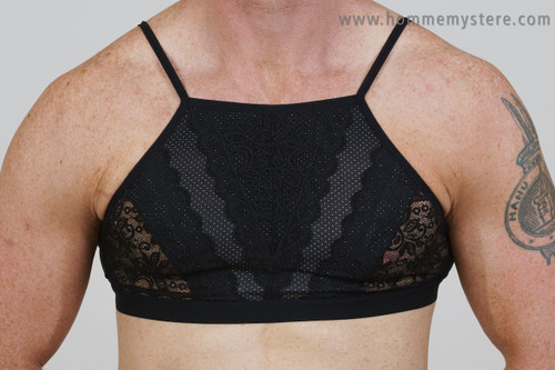 Britney High Neck Bra