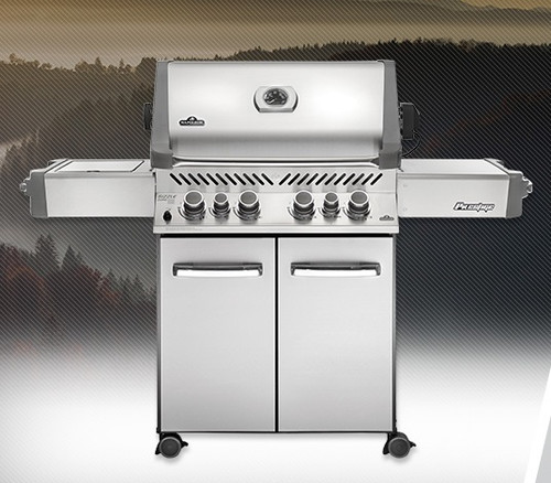 Prestige 500 w/ Rotisserie and Ceramic Infrared Side Burner LP