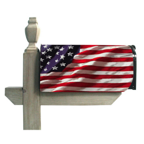 Magnetic Mailbox Cover America in Motion
