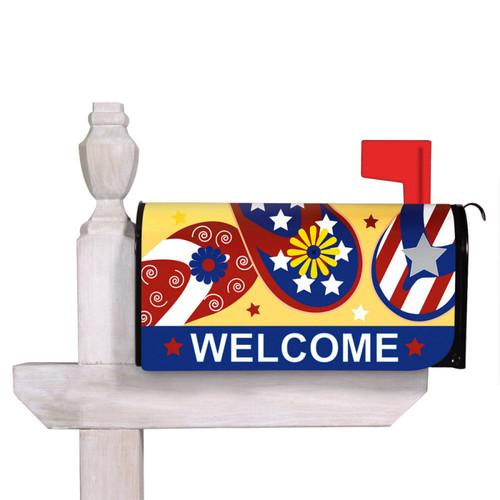 Patriotic Flip Flop Mailbox Cover