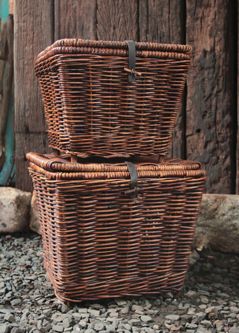 Rattan Tapered Trunk - Small