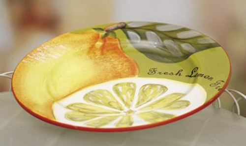 Lemon and Pear Plate