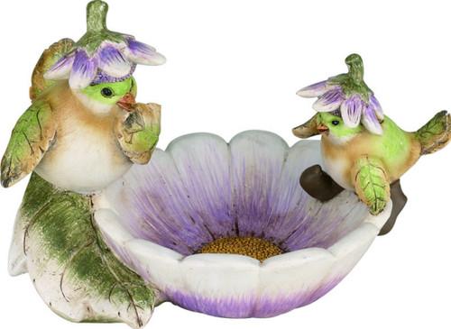 Flower Hat Birdfeeder