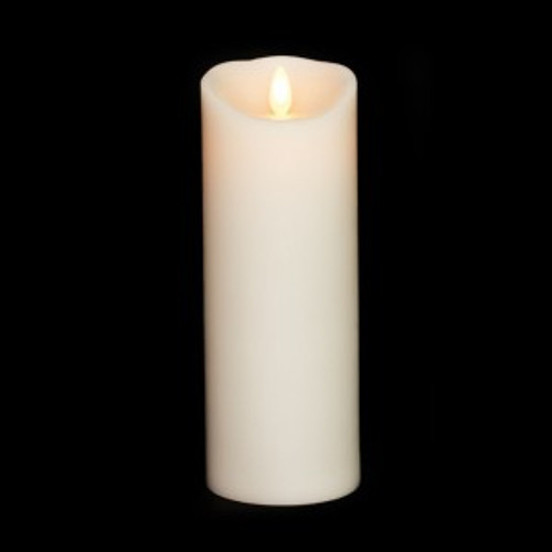 """8"""" Pillar Moving Flame Battery Candle"""