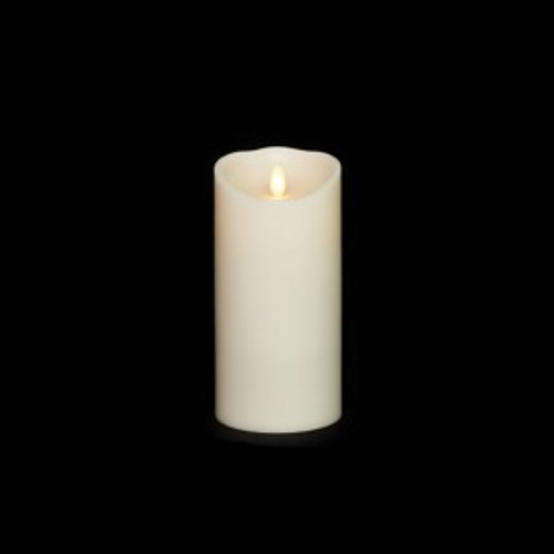 "7"" Pillar Moving Flame Battery Candle"
