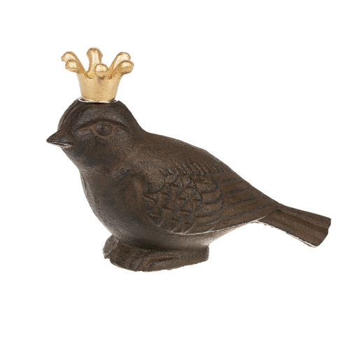 Bird with Gold Crown