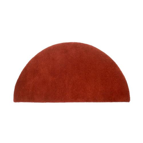 Somerville Red Half Round Rug