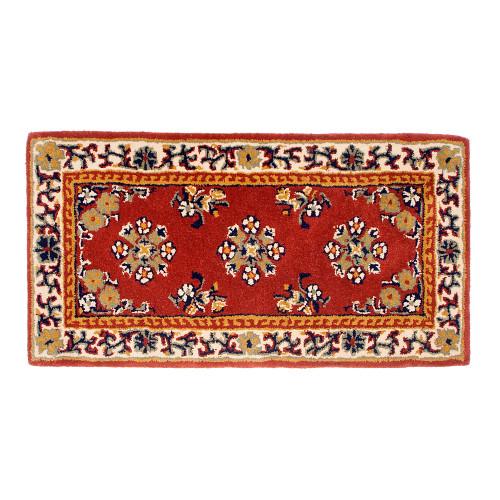 Small Burgundy Oriental Rectangular Rug