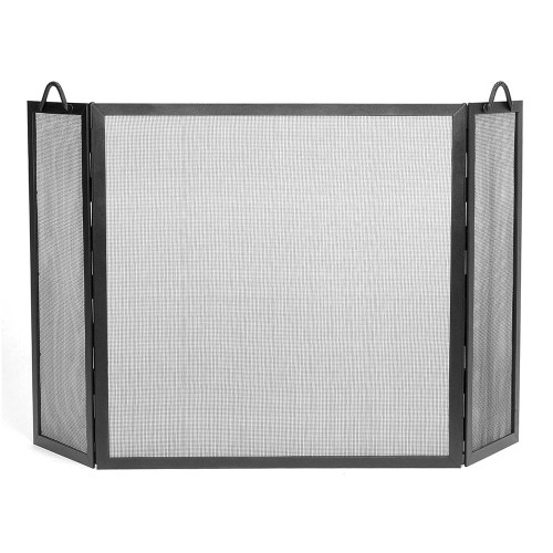 30 x 30 Graphite Twisted Rope Folding Screen