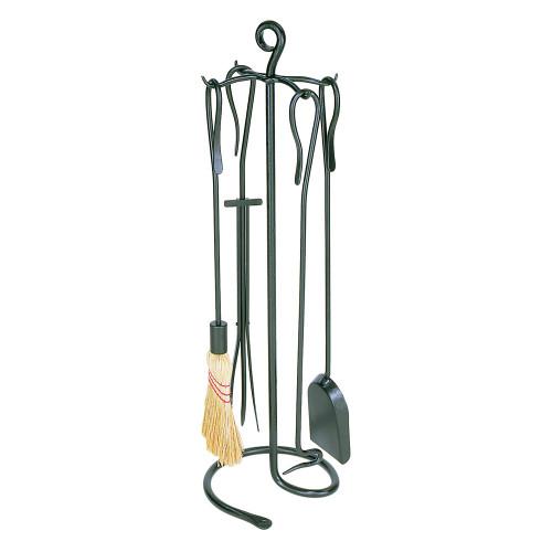 "Shepherd's Hooks Fireplace Tool Set 30""H"