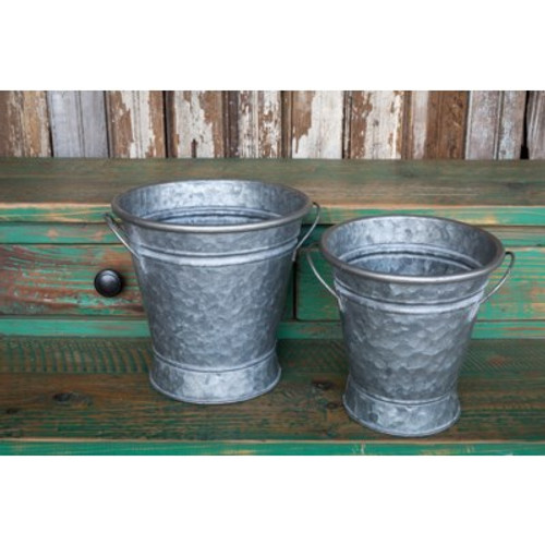 Short Stem Flower Buckets