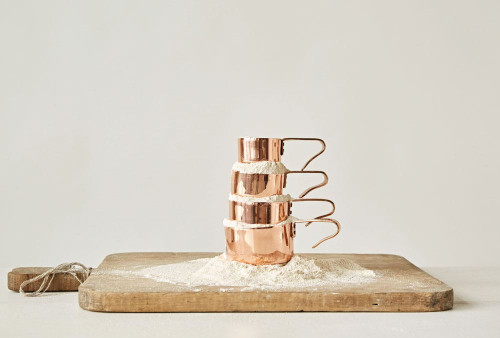 Stainless with Copper Finish Measuring Cups