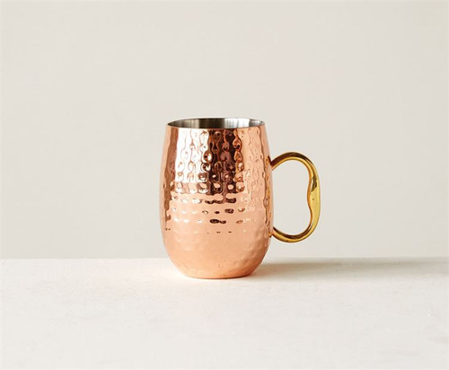 16 oz Stainless Moscow Mule with Copper Finish