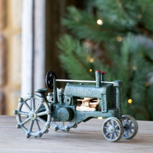 Cast Iron Green Tractor