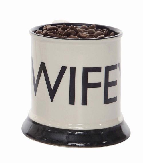 """""""Wifey"""" 12oz Stoneware Mug"""
