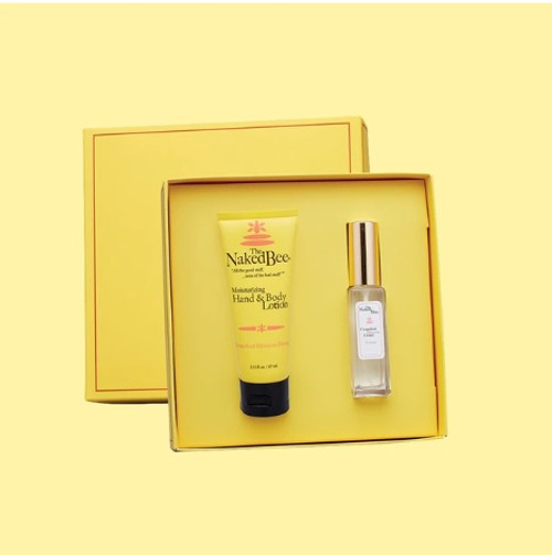 Naked Bee Perfume Gift Set Grapefruit Blossom Honey