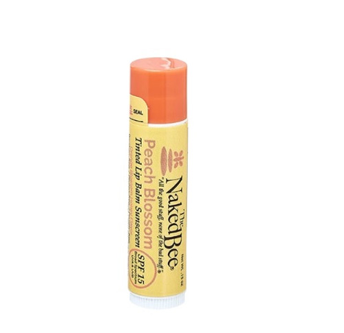 Naked Bee Tinted Lip Balm Peach Blossom
