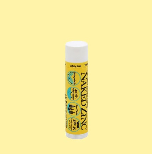 Naked Zink Lip Balm Sunscreen .56oz