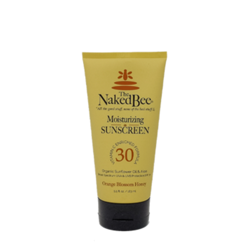 Naked Bee 5.5 oz Orange Blossom Honey SPF 30 Moisturizing Sunscreen