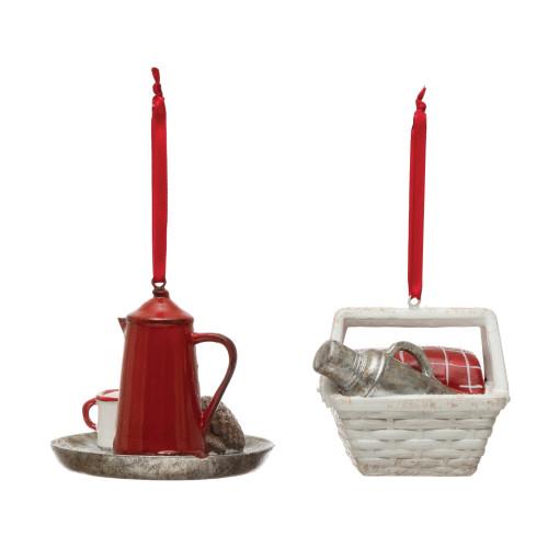 Picnic Coffee Ornament