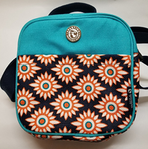 Spartina Lunch Bag Teal Blue