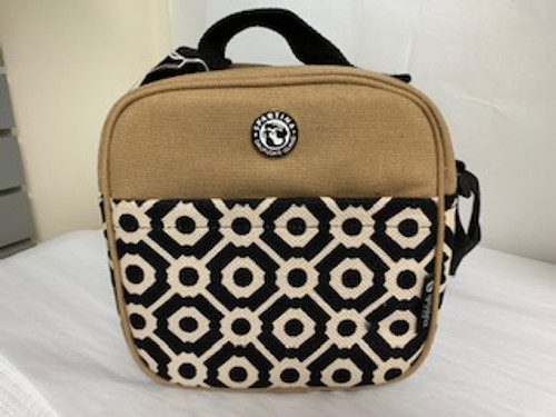 Spartina Lunch Bag Brown/Black