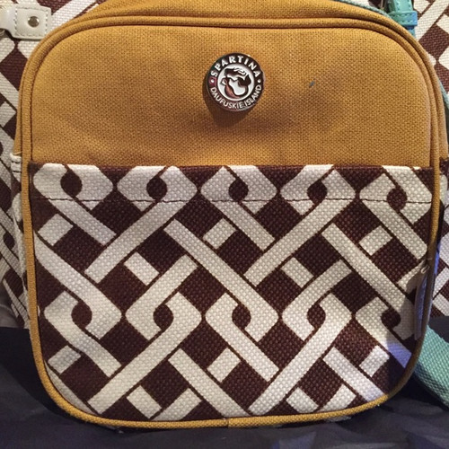Spartina Lunch Bag Celery/Brown