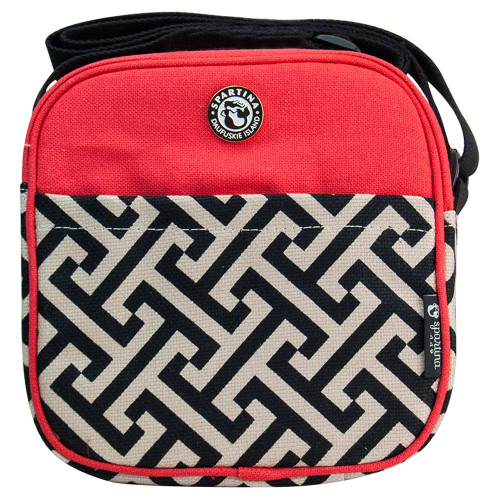 Spartina Lunch Bag Red/Black