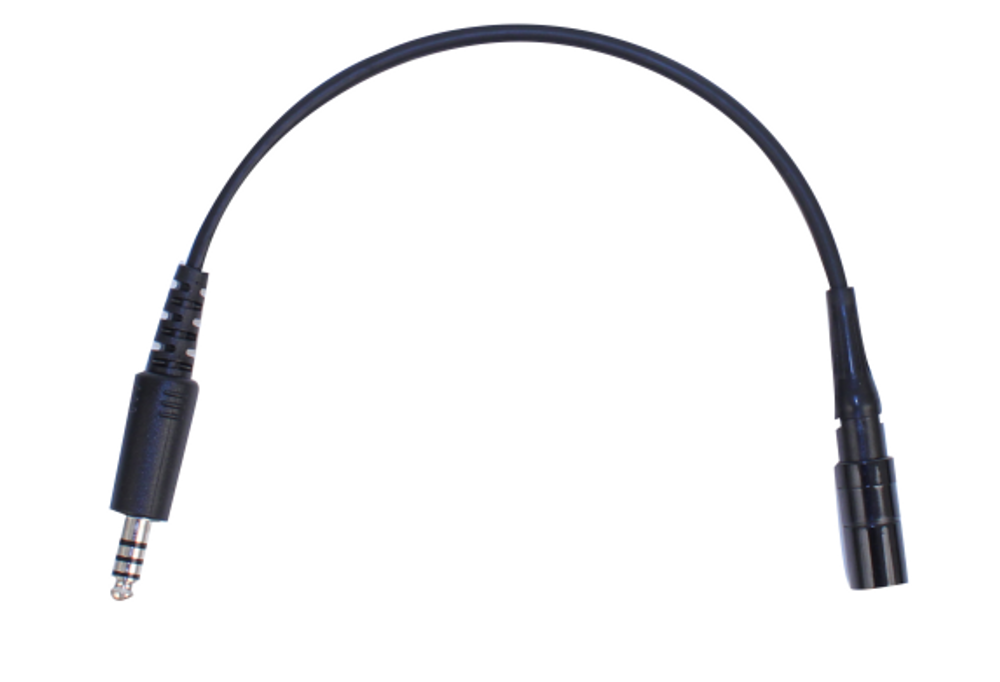 Lemo Headset to Helicopter Adapter