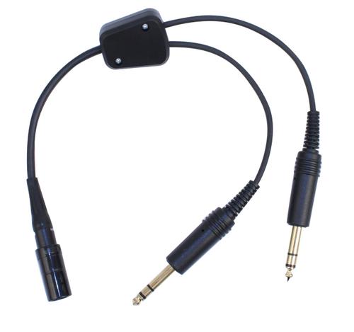 Lemo headset to GA Adapter