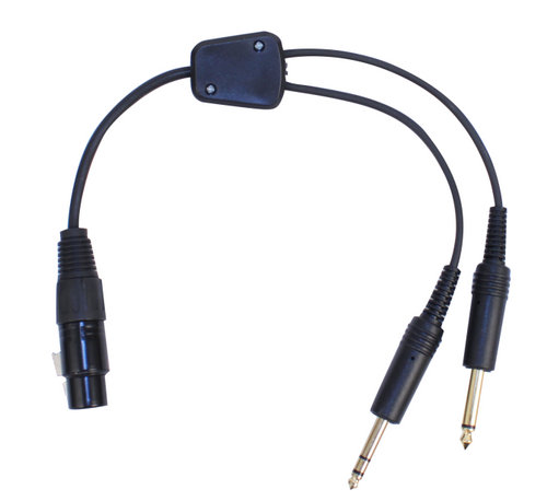 Airbus headset to General Aviation Adapter