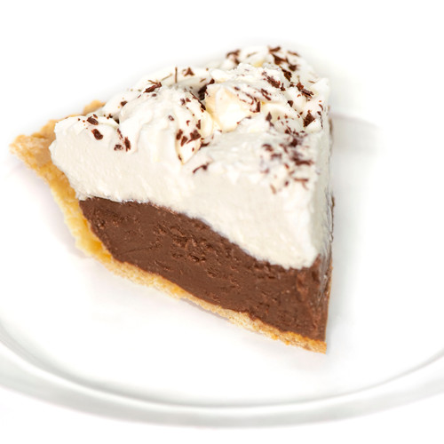 Chocolate Cream Pie - Mom's Apple Pie