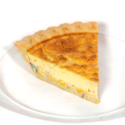 Quiche Slice - Mom's Apple Pie