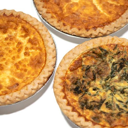 Quiche Whole - Mom's Apple Pie