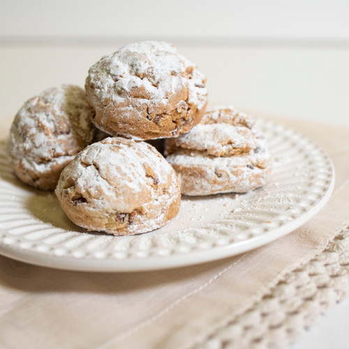 Cookies, Mexican Wedding - Mom's Apple Pie