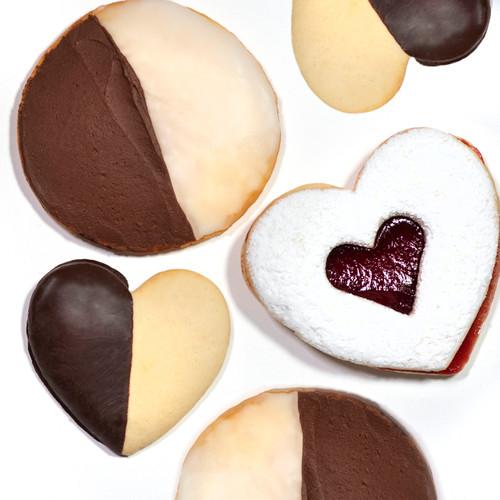 Cookies, Half Heart - Hill High Marketplace