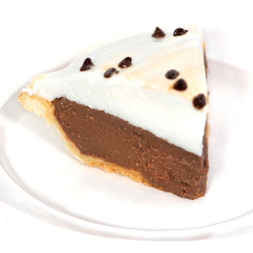 Chocolate Meringue Pie - Hill High Marketplace
