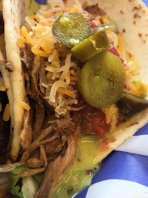 Pork Street Tacos - Hog It Up BBQ