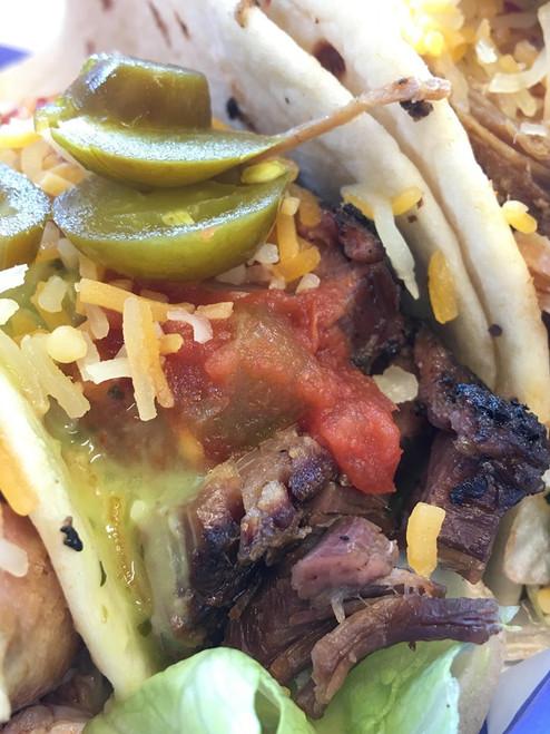 Brisket Street Tacos - Hog It Up BBQ