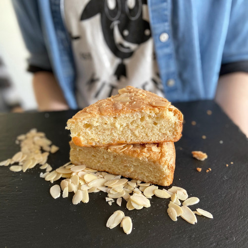 Almond Cake Whole, Special Order - Cowbell Kitchen