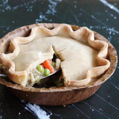 Chicken Pot Pie - Gluten Free - The Difference Baker