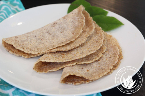 Tortillas - Gluten Free - The Difference Baker