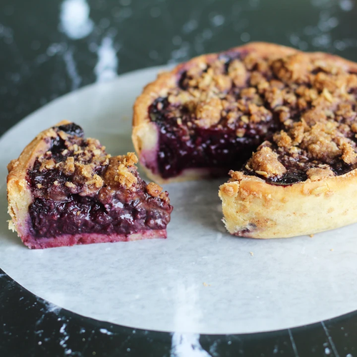 Blueberry Pie - Gluten Free - The Difference Baker