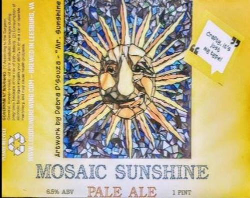Mosaic Sunshine Pale Ale - Loudoun Brewing Company