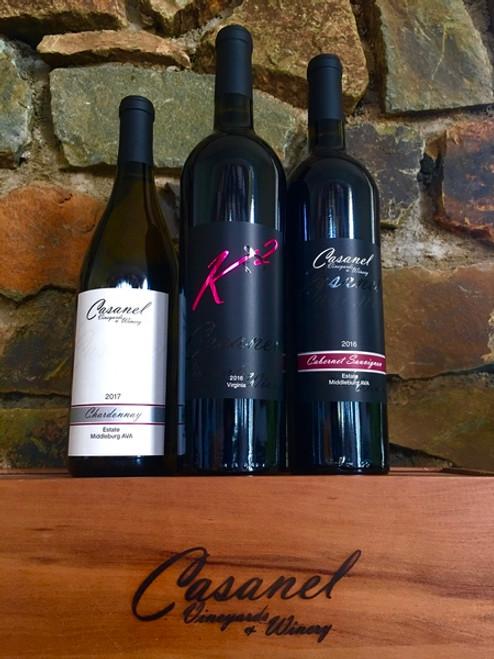 Crowd Pleaser Trio Pack -  Casanel Vineyards + Winery